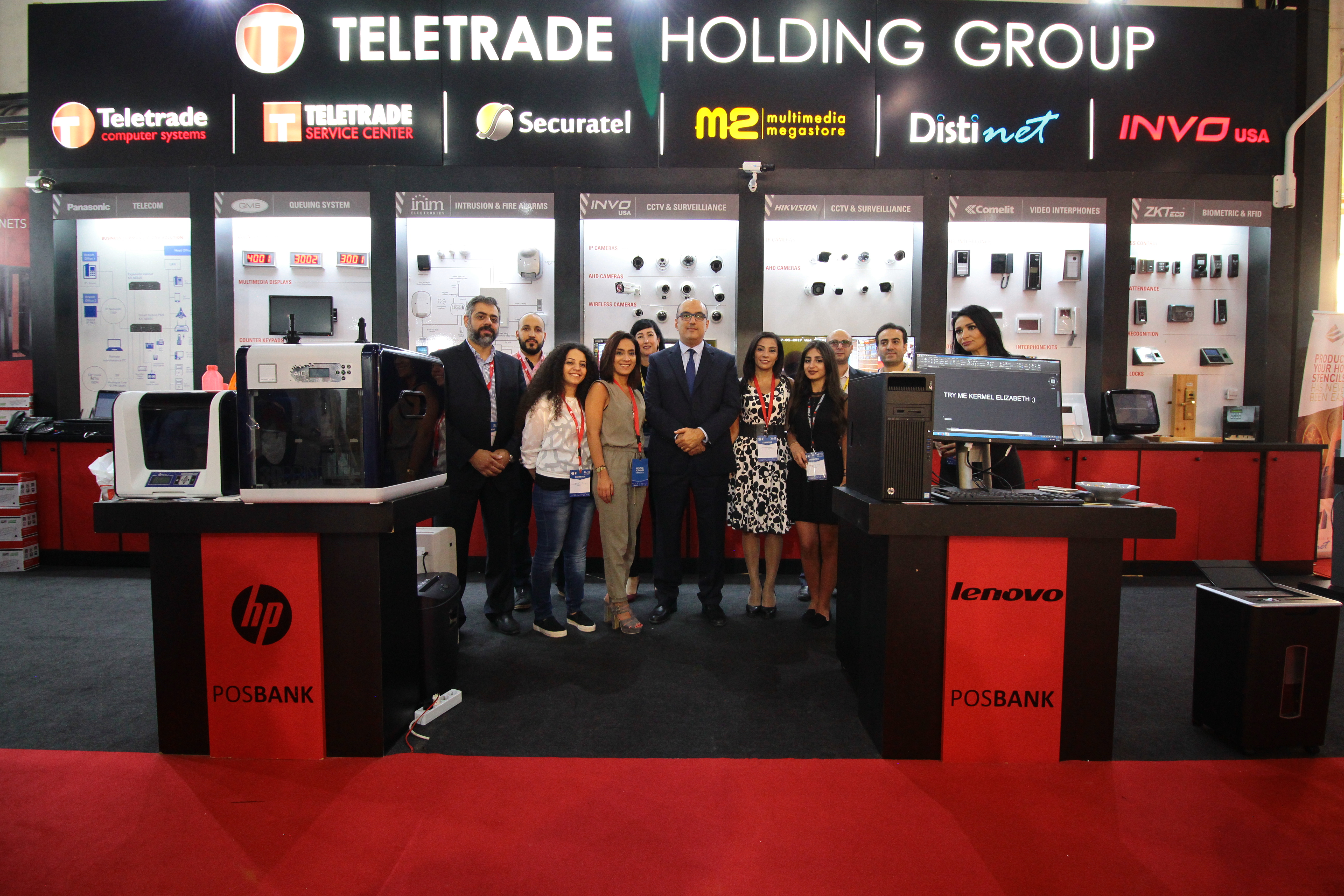 Teletrade Computer Systems at Project Lebanon 22nd edition