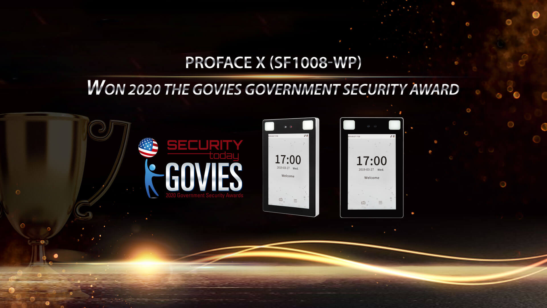 ZKTeco Wins the Govies Government Security Award 2020